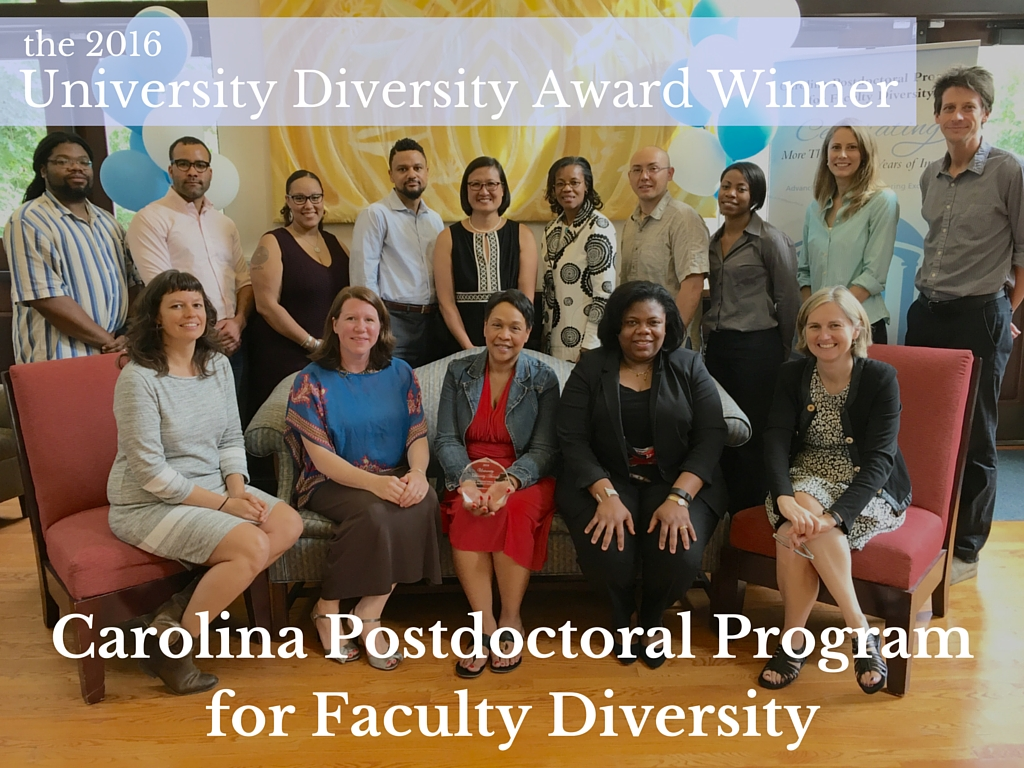 the carolina postdoctoral program for faculty diversity unc research