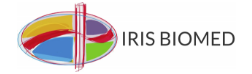 Iris Biomed logo.