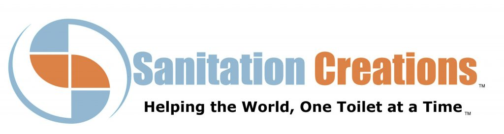 Sanitation Creations logo.