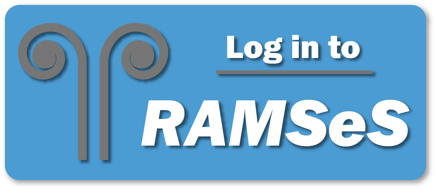 Log in to RAMSeS