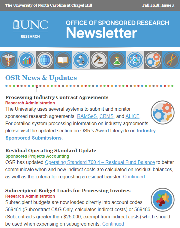 News & Newsletters | UNC Research