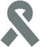 icon of a cancer ribbon.