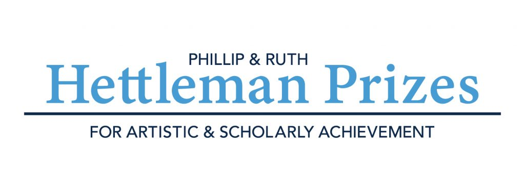 """Feature photo with the """"Hettleman Prizes"""" logo."""
