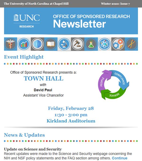 OSR Newsletter Icon