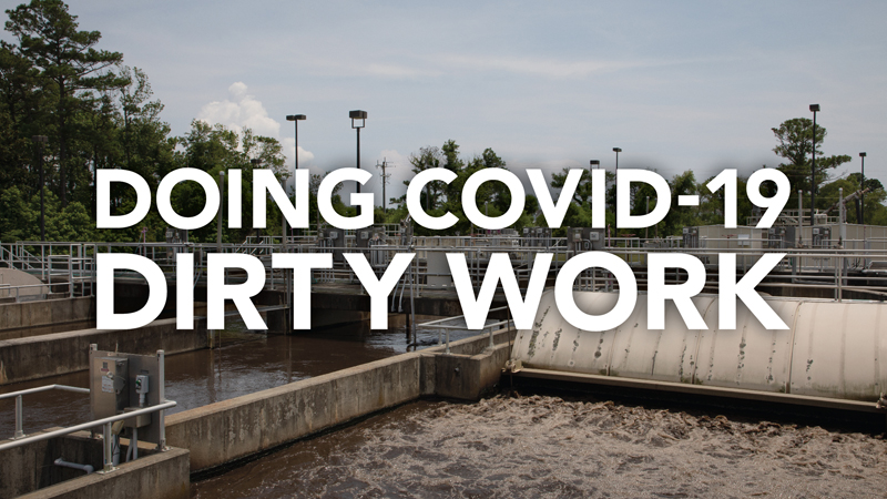 Doing COVID-19 Dirty Work