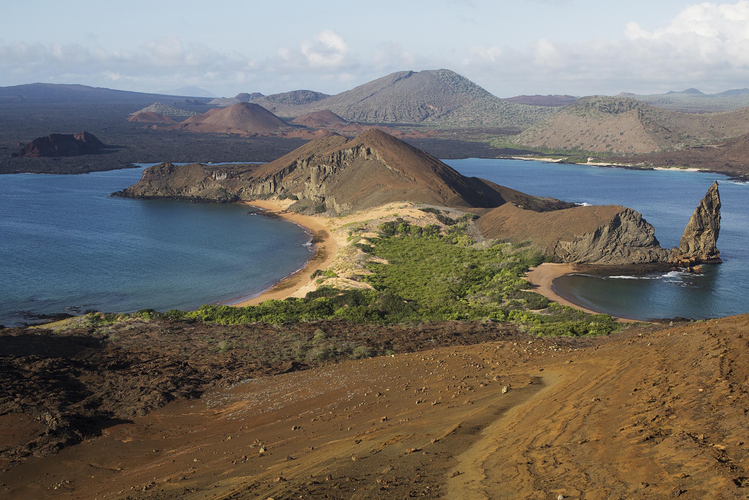 Bartolome Island in the Galapagos