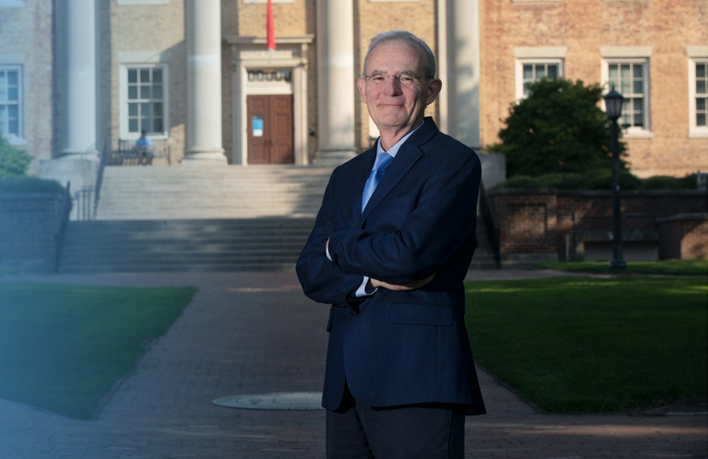 From day one of his role as vice chancellor for research, Terry Magnuson has worked hard to connect Carolina's entire research community. Recently reinstated to serve another five years, he strives to continue to bring together great minds from across the university.