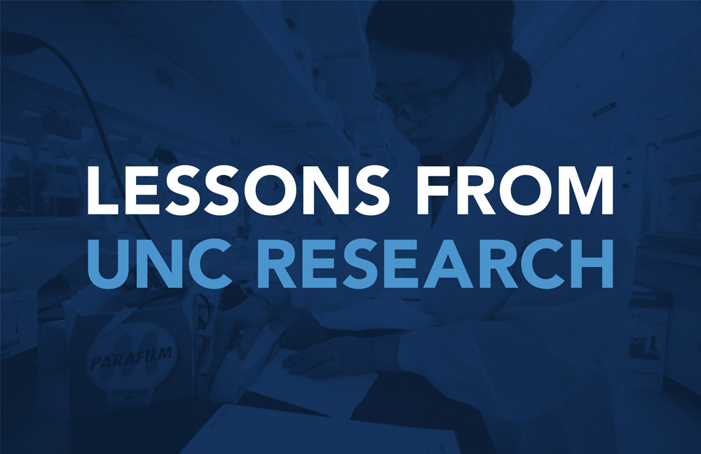 Lessons from UNC Research